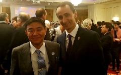 Presedintele COSR, prezent la aniversarea Zilei Japoniei