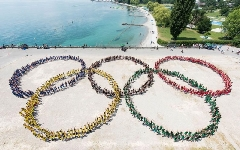 ZIUA OLIMPICA, celebrata de Lausanne 2020 cu un urias flashmob