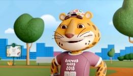 Pandi, mascota JOT Buenos Aires 2018, indeamna tinerii la sport in ultimul videoclip lansat de organizatorii competitiei