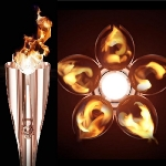 Organizatorii au prezentat Torta Flacarii Olimpice - Tokyo 2020