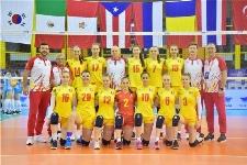 Nationala feminina de volei U18 a Romaniei, locul 6 la Mondiale - cel mai bun din istorie