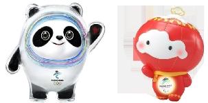 Mascotele Beijing 2022, prezentate cu 1000 de zile inainte de startul competitiei