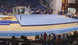 Gimnastele din Centrele Nationale Olimpice pentru Juniori au dominat Nationalele (VIDEO)