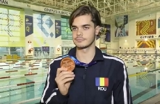 Inotatorul Robert Glinta a incheiat anul 2019 pe podiumul european si este optimist in perspectiva Tokyo 2020 (Video)