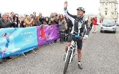 Calatoria pe bicicleta de la Lisabona la Baku a inceput