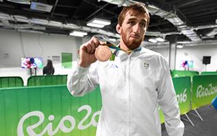 Albert Saritov - Lupte - Rio 2016