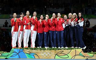 Loredana Dinu, Simona Gherman, Simona Pop, Ana Maria Florentina Popescu - Scrima - Rio 2016